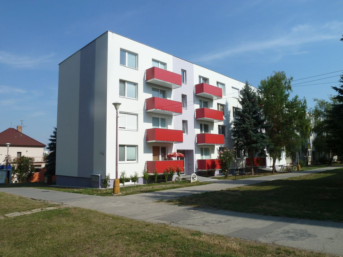 15. Nové závesné balkóny