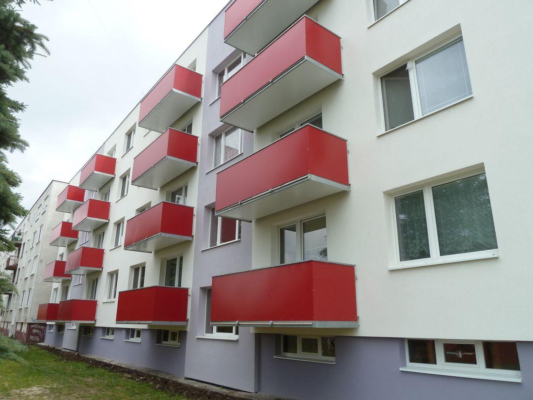 4. Nové závesné balkóny