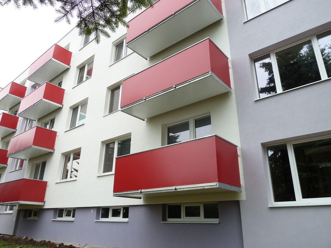 9. Nové závesné balkóny